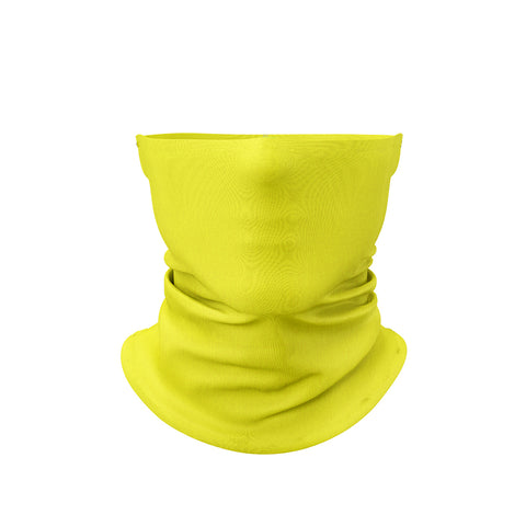 Neck Gaiter Solid Yellow