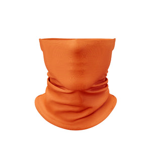 Neck Gaiter Solid Orange
