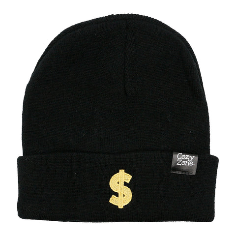Patch Beanie Dollar Sign