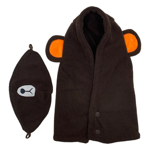 Kids Fleece Hood Bear