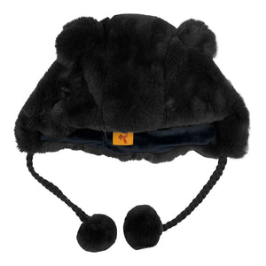 Fashion Hat Bear Series Black