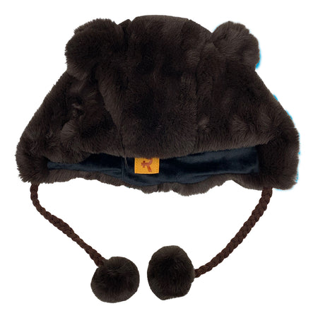 Fashion Hat Bear Series Brown