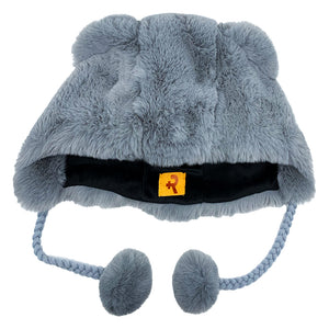 Fashion Hat Bear Series Gray