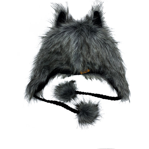 Fashion Hat Wolf Series Gray