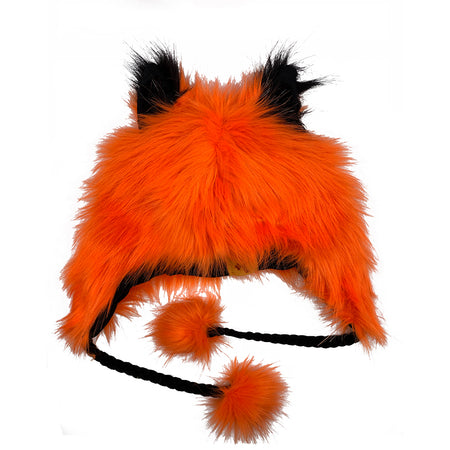 Fashion Hat Wolf Series Orange