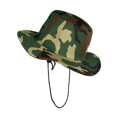 Summer Hat Sol Bucket Hat Camo Green