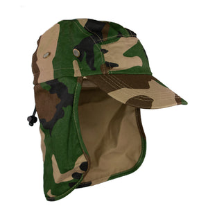 Summer Hat Sol Fishing Hat Camo Green