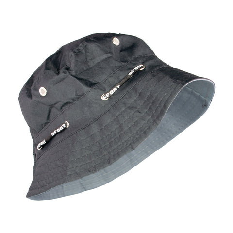 Summer Hat Sol Floppy Bucket Hat Black