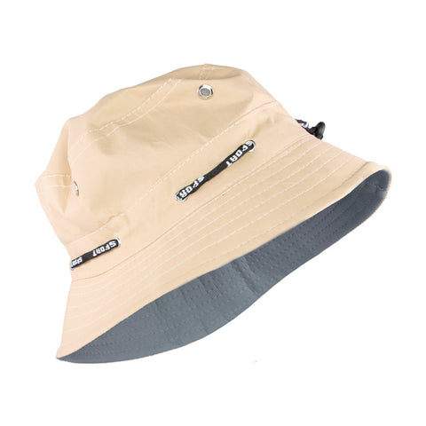 Summer Hat Sol Floppy Bucket Hat Dark Beige