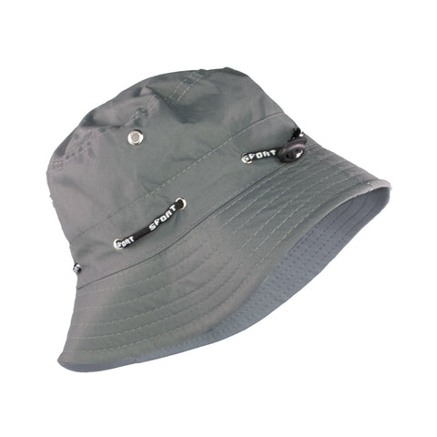 Summer Hat Sol Floppy Bucket Hat Dark Grey