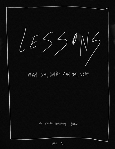Lessons Vol. 2 - A Coral Monday Hand-Drawn Book