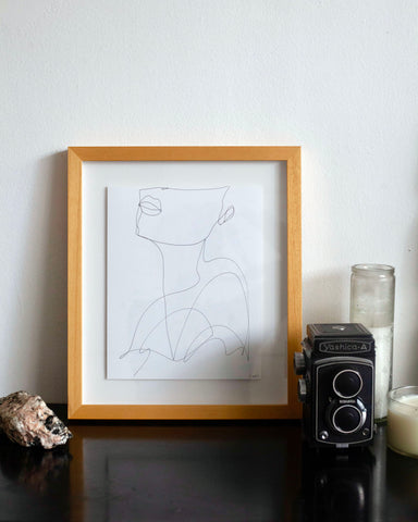 Muse. (1 of 1)| Framed Fine Art Print