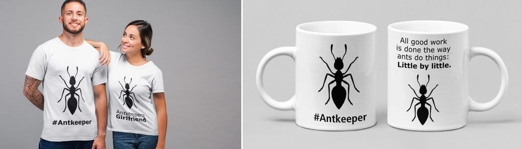 Awesome Antkeeping Apparel