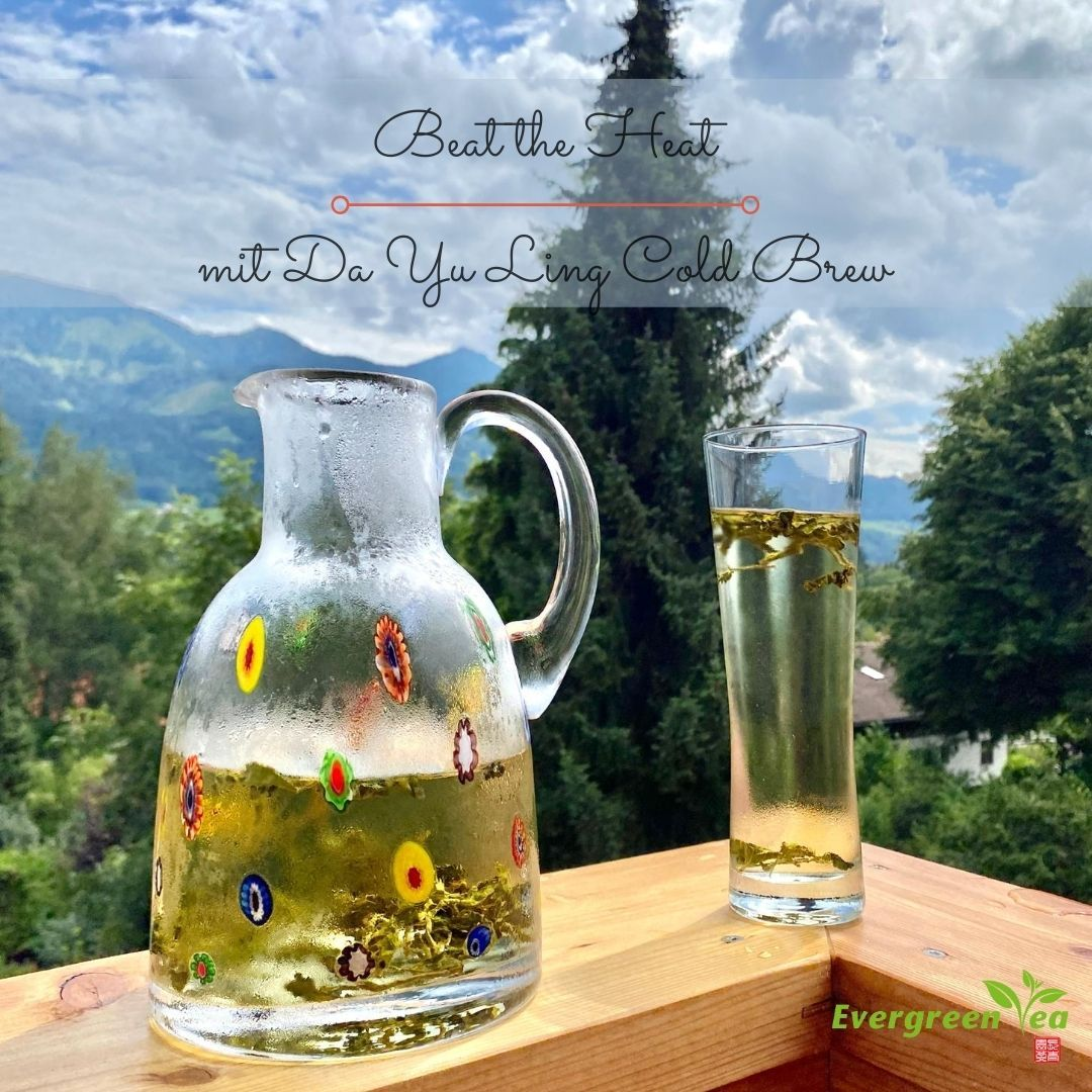 Da Yu Ling Oolong Cold Brew Recipe - that's how it's done!