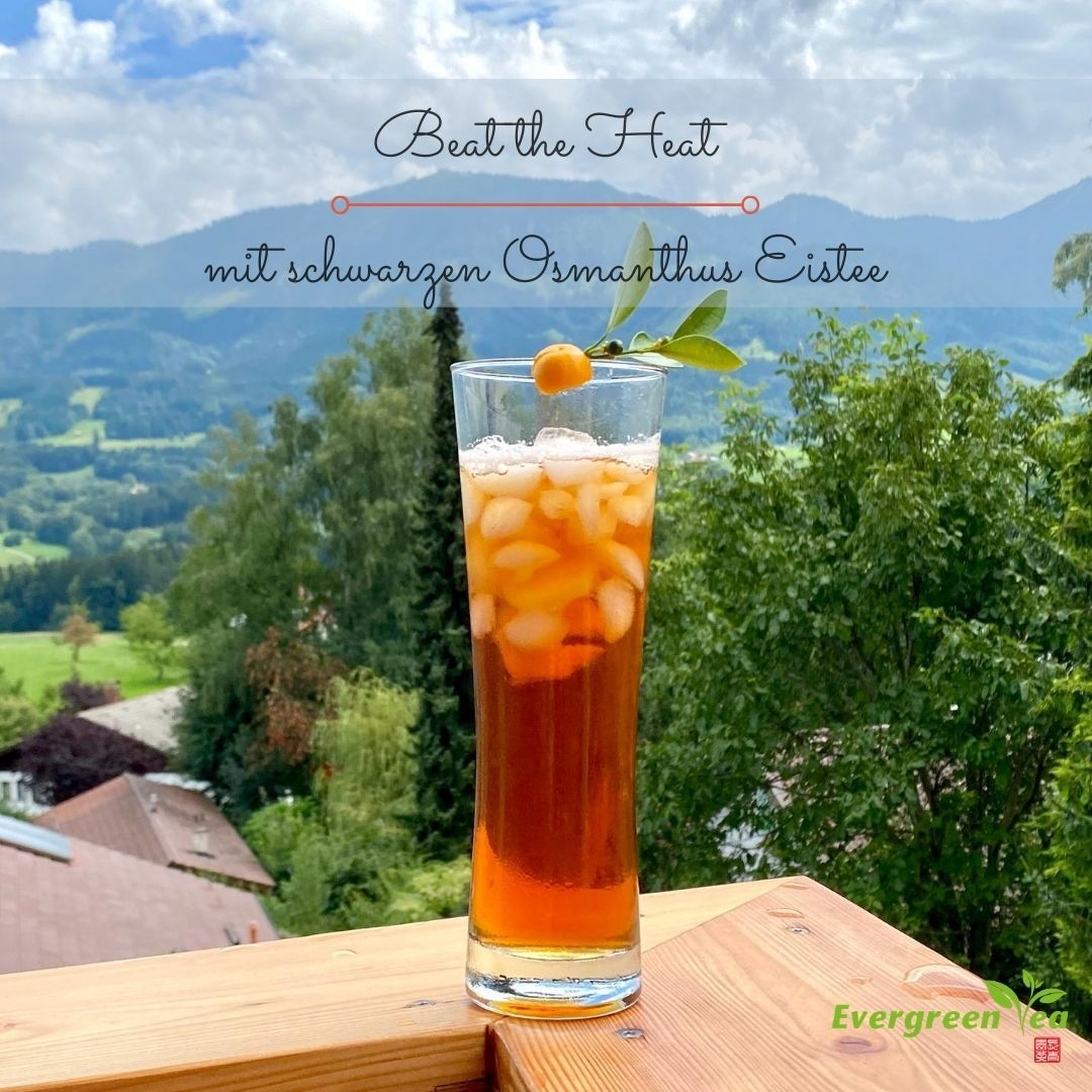 black osmanthus iced tea - it's so easy!