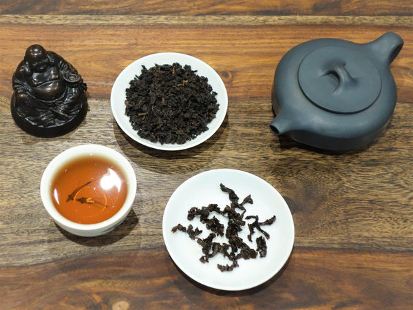 Tie Guan Yin Oolong - heavy roast - Iron Goddess - Evergreen-teashop.de