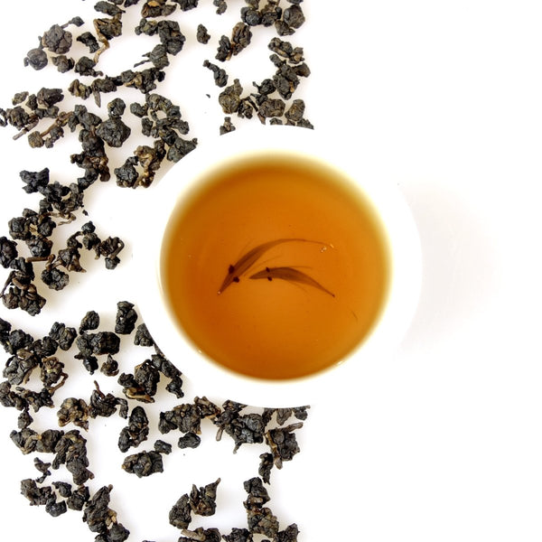 stark gerösteter Lishan High Mountain Oolong Tee - Evergreen Teashop