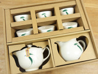 Teetassen Set little Fish aus Taiwan - Porzellan - Evergreen Teashop