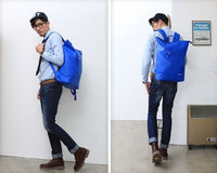 Mens Waterproof School Bag College Backpack Casual Rucksack Daypack 8039 - chanchanbag