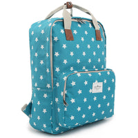 Colatree Womens College School Bag Star Backpack Book Bag Daypack 408 - chanchanbag
