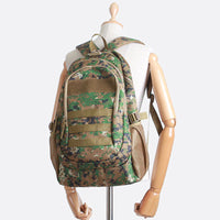 SSAMZIE Mens Camoflage Backpack Camo Rucksack Casual College School Bag 6033 - chanchanbag