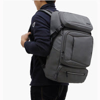 TOPPU Mens Square Backpack College School Bag Business Laptop Rucksack 624 - chanchanbag