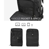 Arctic Hunter Mens Square Casual Backpack 15.4'' Laptop Bag College School Bag 1667 - chanchanbag