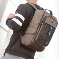 SLICK Mens College Backpack School Bag Casual Laptop Backpack Rucksack 340 - chanchanbag