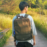 SLICK Mens College Backpack School Bag Casual Laptop Backpack Rucksack 344 - chanchanbag