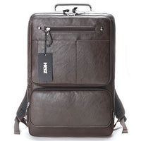 SLICK Mens College Backpack Square Laptop School Bag Business Rucksack 726 - chanchanbag