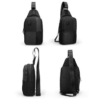Aoking Mens Sling Bag Anti Theft Crossbody Laptop Shoulder Backpack 54095 - chanchanbag