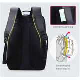 Aoking Mens College Backapck 15.6'' Laptop Bag Casual School Bag 86335 - chanchanbag