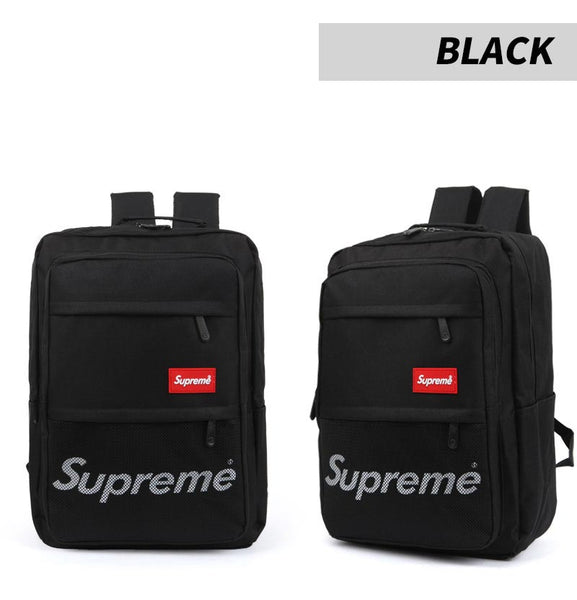 Supreme Mens College Backpack Womens School Bag 15 Laptop Rucksack 3631 - chanchanbag