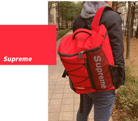 Supreme Mens College Backpack Womens School Bag 15 Laptop Backpack Rucksack 3638 - chanchanbag