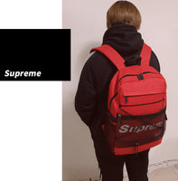 Supreme Mens School Backpack 15.6 Laptop Bag Daypack Womens School Bag 3640 - chanchanbag