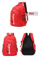 Supreme Mens College Backpack Womens School Bag 15.6 Laptop Backpack Rucksack 3653 - chanchanbag