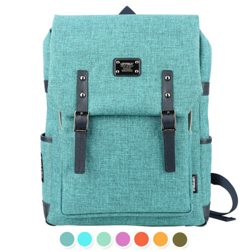 LEFTFIELD Mens School Bag Womens Colorful Backpack Laptop College Bag 088 - chanchanbag