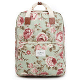 Colatree Womens Floral Backpack Flower Bag College School Bag Daypack 401 - chanchanbag