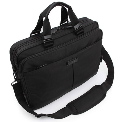 Genova Mens Briefcase Laptop Business Bag Shoulder Bag Tote Bag Attache 2337 - chanchanbag