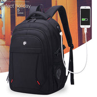 Aoking Mens Laptop Backpack College Bag USB Charging Headphone Port SN67660_2 - chanchanbag