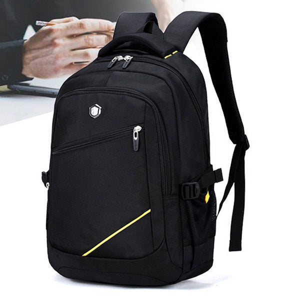 Aoking Mens Business Backpack Travel Laptop College School Bag Rucksack SN67881 - chanchanbag
