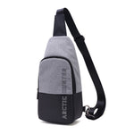 Arctic Hunter Mens Sling Bag Crossbody Waist Bag Shoulder Backpack 00058 - chanchanbag