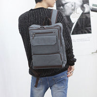 SLICK Mens College School Bag Casual Backpack Laptop Backpack Rucksack 129 - chanchanbag