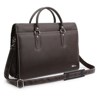 Genova Mens Briefcase Laptop Business Bag Shoulder Bag Tote Bag Attache 6122 - chanchanbag