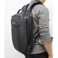 TOPPU Mens College Laptop Backpack Travel Business Bag Casual School Bag 803 - chanchanbag