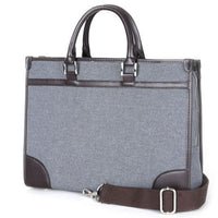 SLICK Mens Briefcase Business Bag Shoulder Bag Tote Messenger Bag Attache 6167 - chanchanbag