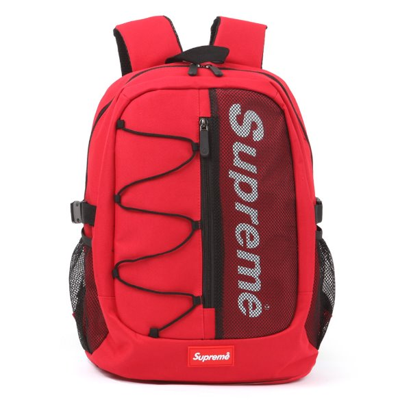 Supreme Mens School Bag Womens College Backpack Laptop Rucksack Daypack 3637 - chanchanbag