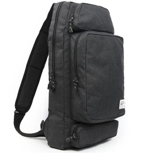 Dickfist Mens Shoulder Strap Bag Shoulder Backpack College School Bag 9052 - chanchanbag