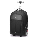 Aoking Rolling Travel Backpack Wheeled Laptop Rucksack Trolley Luggage (20 Inches)