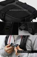 TOPPU Mens Transform Backpack Casual Rucksack Laptop College School Bag 773 - chanchanbag
